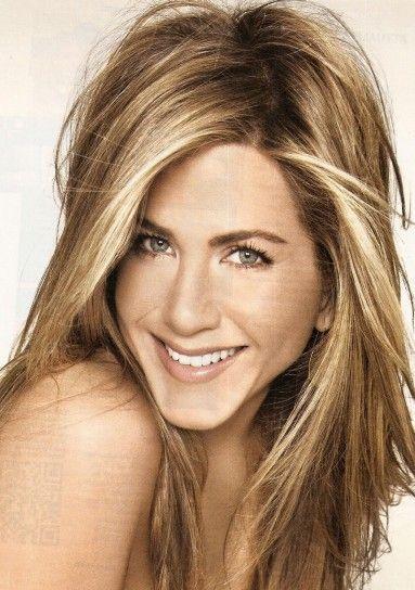 Le meches di Jennifer Aniston