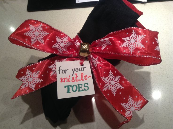 Christmas gift: for your mistletoes
