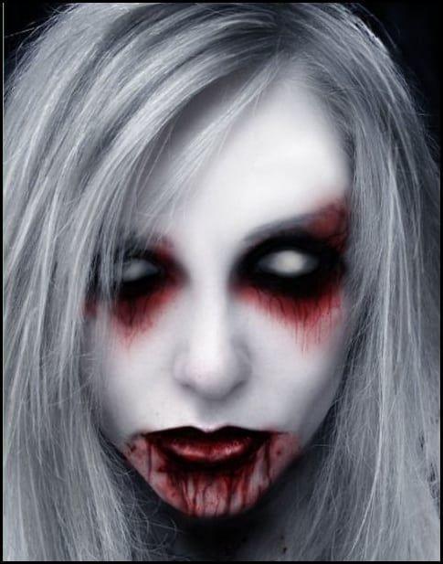 Creepy Scary Halloween Makeup.Scary Halloween Makeup 20 Scary Halloween Makeup Ideas For