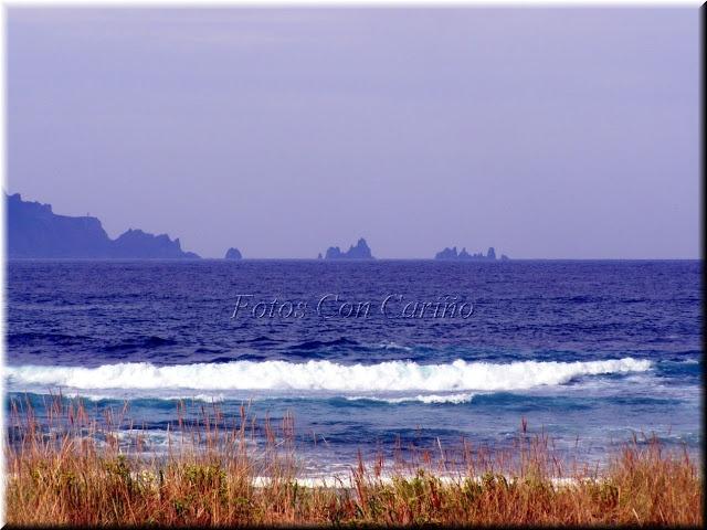 Fotos Con Cariño: El Cabo Ortegal y Los Aguillones desde la Playa de Esteiro, verano 2012.