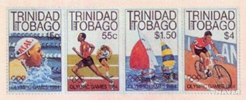 트리니다드 토바고의 1984년 미국 LA 올림픽 기념우표