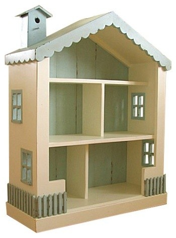 repaint the dollhouse like this