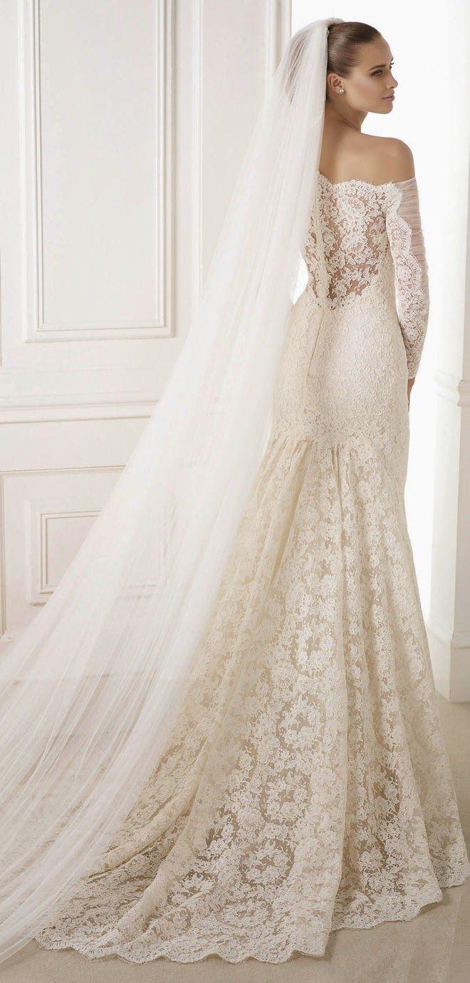 Pronovias 2015 Bridal Collections - Part 1 | bellethemagazine.com