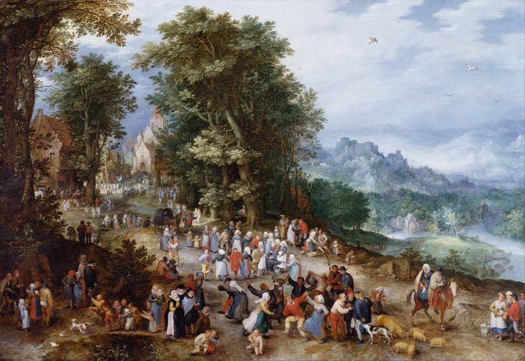 Фламандская ярмарка (1610) (Англия, Королевское собрание, замок Виндзор). Jan Brueghel sn