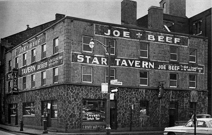 The Original Joe Beef Tavern, Montréal c.1875