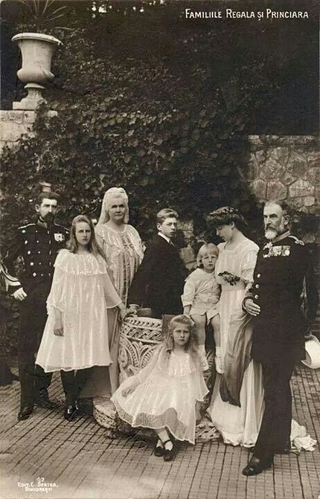 Three generations of the Romanian Royal Family