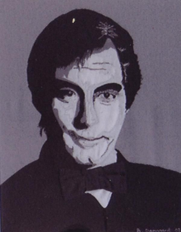 Made this pictureapplication of Timothy Dalton, for my dear friend and collector Knud Braagaard