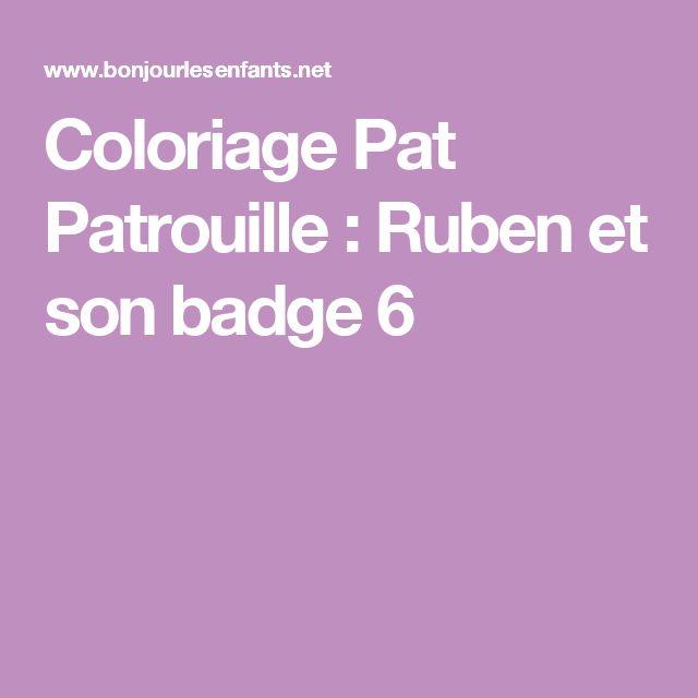 The 25 best coloriage pat patrouille ideas on pinterest - Coloriage pat patrouille ...