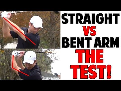 How to Keep Left Arm Straight in Golf Swing and Get Perfect Golf Impact - YouTube