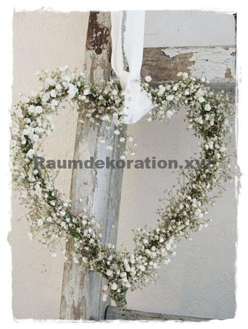 """Hochzeitstischdekoration – Hochzeitsdekoration oder bevor Sie für immer """"Ja"""" sagen   – Türkränze"""