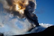 Etna durante un'eruzione