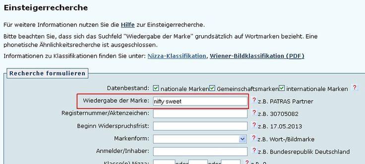 Bei der kostenfreien Recherche in Amtsdatenbanken wie die Markendatenbank des #DPMA (Deutsches Marken- und Patentamt) können Fehler bei der Datenübernahme zu Problemen führen. Wir zeigen worauf Sie achten müssen.
