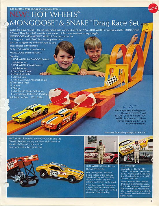 Hotwheel Track racers