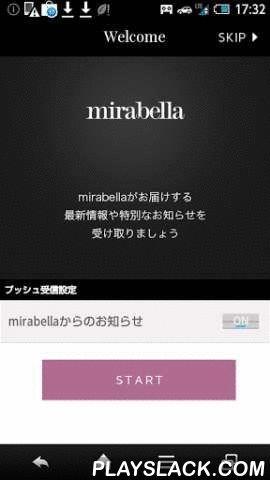 Mirabella  Android App - playslack.com , 集英社 FLAG SHOPが運営するデザイナーズセレクトショップ…