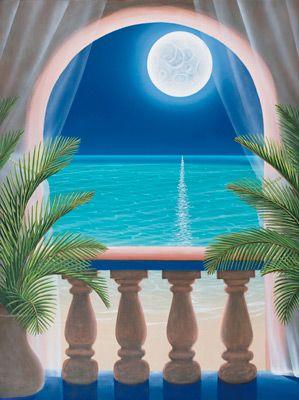 Moonlit Interlude via MuralsYourWay.com