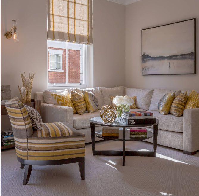 100 лучший идей: угловые диваны в интерьере гостиной на фото
