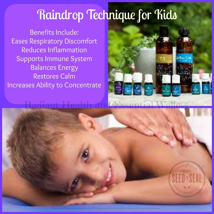 Raindrop Technique for Kids. To learn more about Young Living Essential Oils visit: www.shareyl.com/paulinejohanik