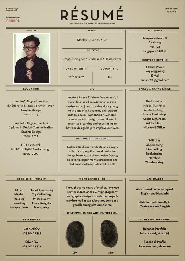 stunning contoh resume graphic designer contemporary simple