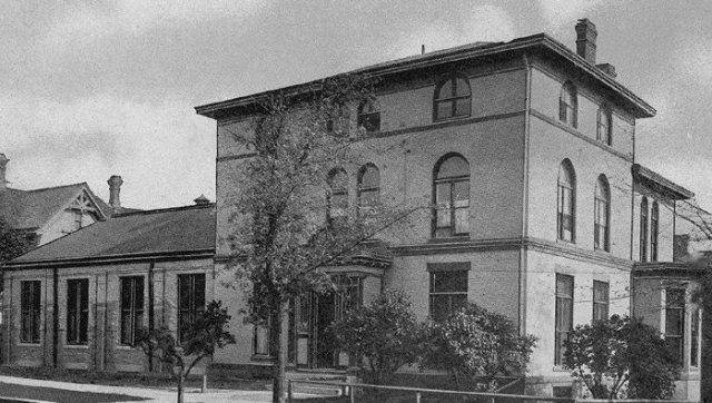 Original Mt Sinai Hospital - 4th and Walnut Street
