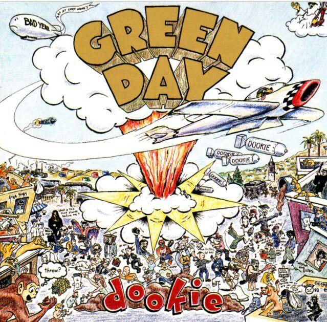 En 1994 Green Day lanzó su 3er disco, Dookie, que se transformó en un clásico de los 90 y consolidó la fama mundial de la banda. Entre los éxitos del álbum, se encuentra Basket Case, Longview, When I Come Around y She.