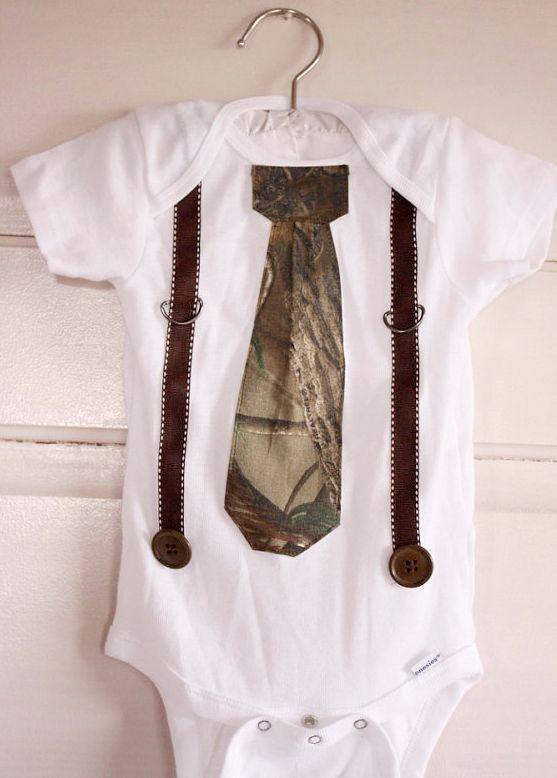 Realtree Camo Baby Boy Shirt  #Realtree #camobaby