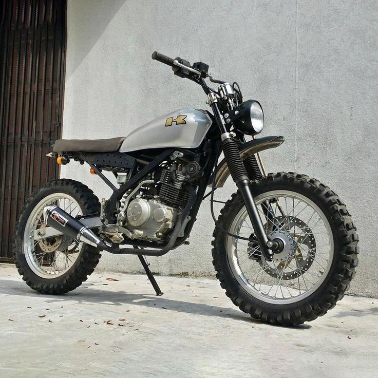 Kawasaki Klxsf Mods