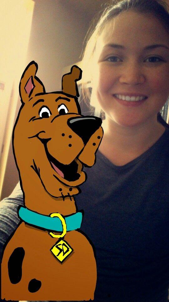 Snapchat art. Scooby-Doo