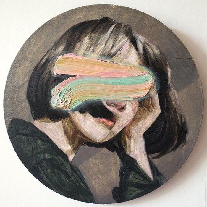 Artwork by Hélène Delmaire