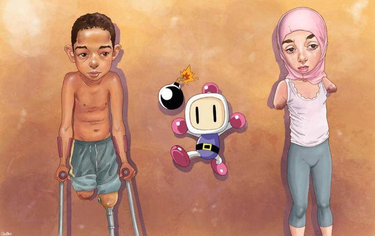 Miroir de la société – les illustrations de Luis Quiles | Tracks