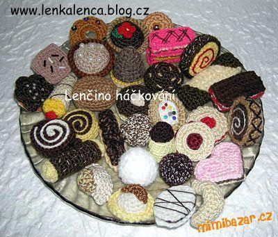 Lencino Hackovani/Crochet cookies!