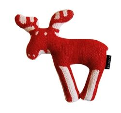 Klippan Cotton Chenille Moose Cuddly Toy available at Northlight Homestore