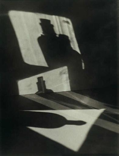 Jaromir FUNKE (1896-1945) Composition (ombres de bouteille) 1927-28