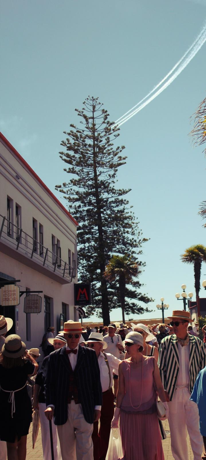 Art Deco Festival in Napier, Hawkes Bay, New Zealand #artdeco