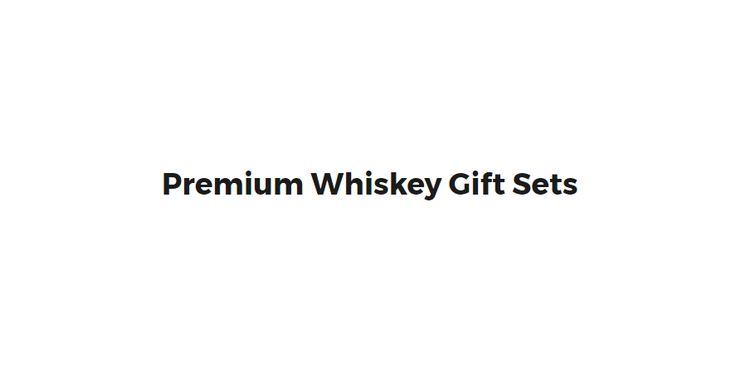 Whiskey Gift Sets & Premium Whiskey Stones Gift Sets