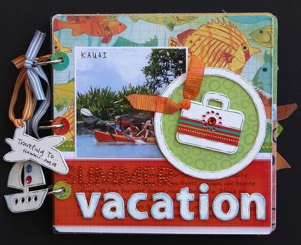 vacation photo albums