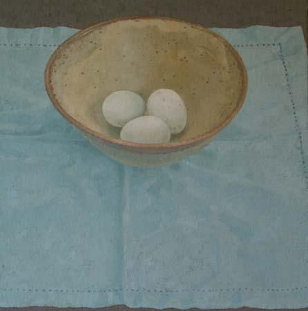 3 Duck Eggs - Sarah Gillespie