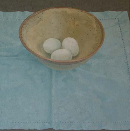 3 Duck Eggs - Sarah Gillespie