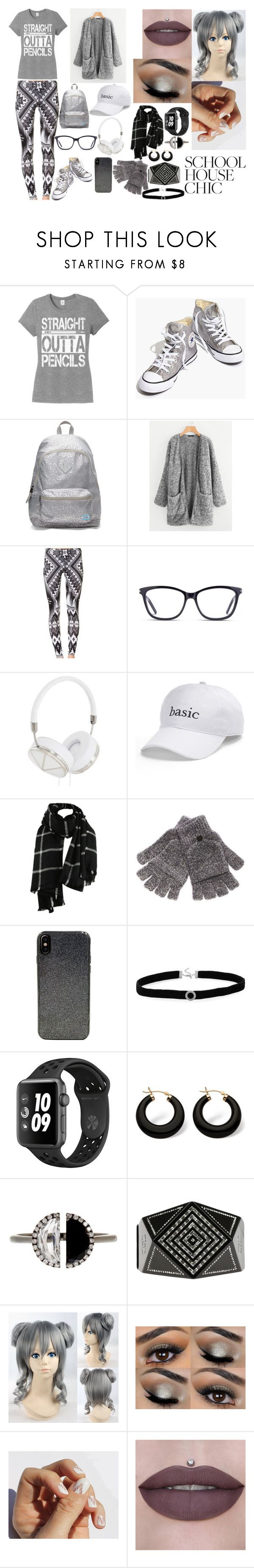 """School Fashion"" by dominique-summerall ❤ liked on Polyvore featuring Madewell, TOMS, GlassesUSA, Frends, SO, Steve Madden, Candywirez, BillyTheTree, Palm Beach Jewelry and Bony Levy"