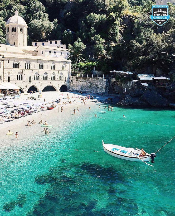 San Fruttuoso, Liguria, Italia