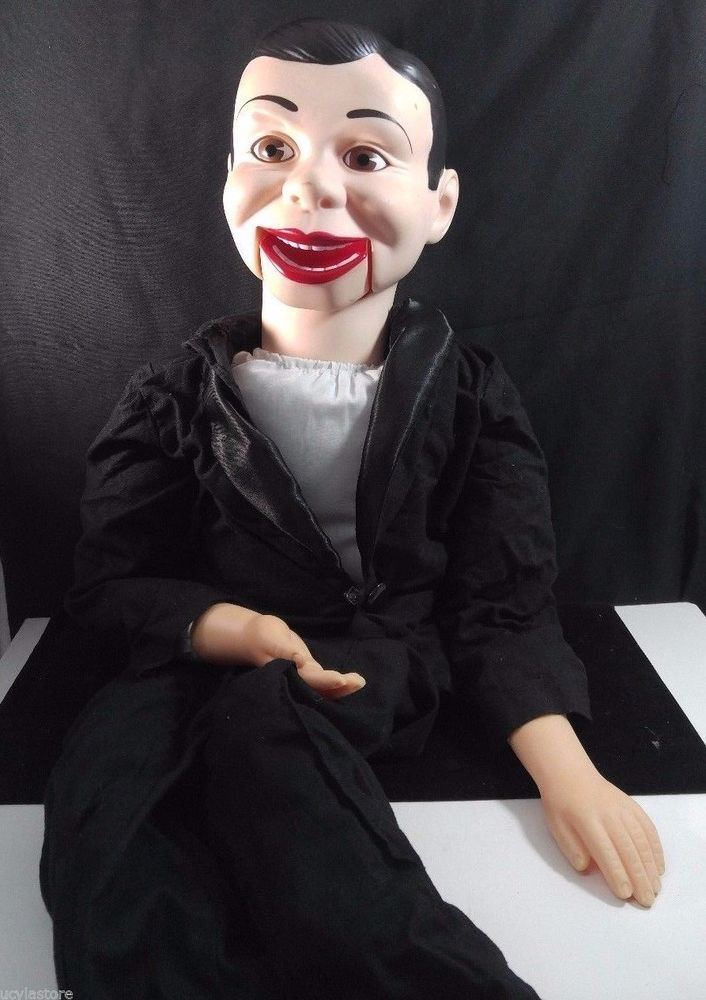 "Vintage Rare Goldberger Charlie McCarthy Ventriloquist Puppet Doll 30"" Tall #Goldberber"