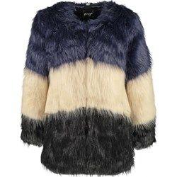 Maze SUNDSVALL Krótki płaszcz black/dark blue/beige