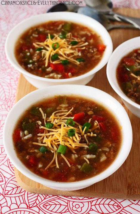 Best 20+ Stuffed bell pepper soup ideas on Pinterest ...