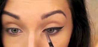 Yanlış Sürülen Eyeliner Nasıl Düzeltilir?
