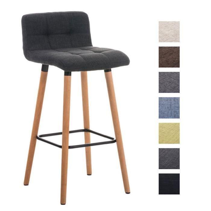 Largeur: 42 cm, Hauteur: 94 cm, Profondeur: 49 cm, Matériel: bois, matière de l'assise: matière: 100% Polyester, hauteur de l'assise: 75 cm, Assise, - Revêtement: Tissu, - Assise et dossier confortablement rembourrés, - Housse de sičge matelassé élégant, Support, - Matériel: Bois, - Piétement stable