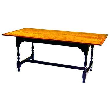 Salisbury Tavern Table by D.R. Dimes is on the floor at Baker's Furniture