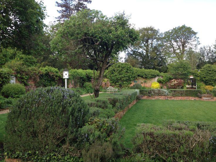 Gardens and bird box