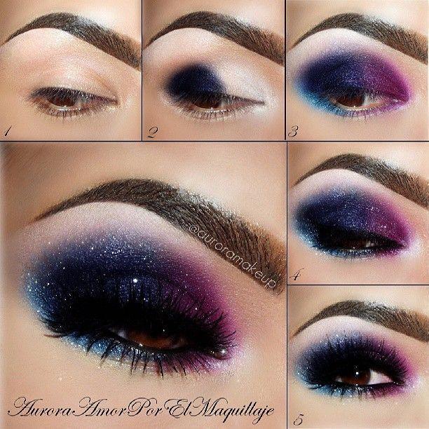 Galaxy eye makeup #fbloggers #bbloggers #lbloggers