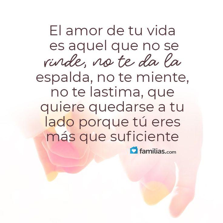 El amor de tu vida es aquel que no duele