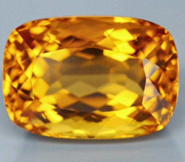 Natural yellow Batu citrine