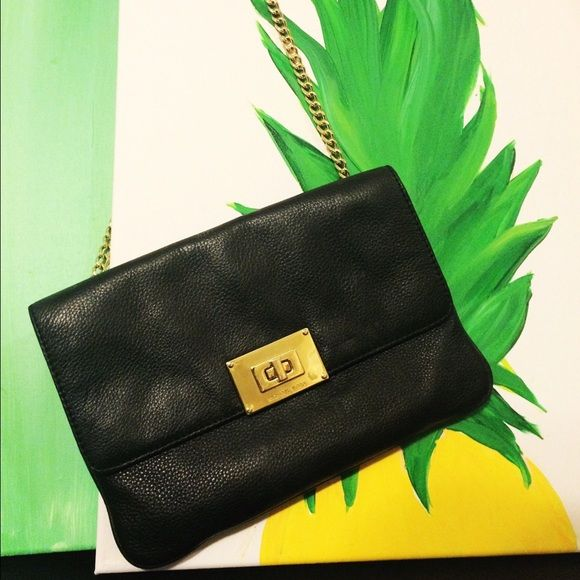 Michael Kors black shoulder bag. This bag goes with literally everything! Can be dressed down or up. Worn a few times I just have way too many black bags! Michael Kors Bags Shoulder Bags